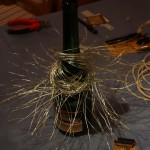 wires for the Seedtree blossoms before they got covered with Nylon, stored on a bottle