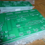 the new and fresh PCBs